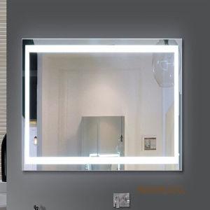 Hotel Vanity Frameless Beveled LED Illuminated Bathroom Lighted Mirrors pictures & photos