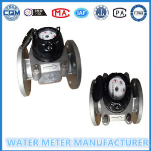 Large Diameter Woltmann Type Stainless Steel Water Meter Lxlc-50 in Gaoxiang Brand pictures & photos
