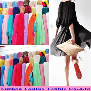 100% Polyester 100d Fabric Chiffon Dying Fabric for Ladies Dress pictures & photos