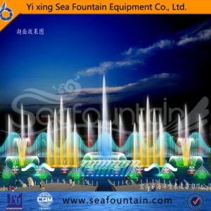 Wooden Package Lake Ss304 Material 3D Nozzle Fountain pictures & photos