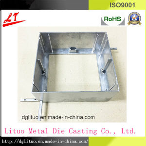 China Manucture Hardware Metal Aluminum Die Casting Shelf Parts pictures & photos
