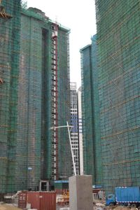 Construction Hoist Elevator Crane pictures & photos