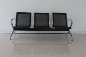 Black Public 3-Seater Airport Waiting Chair pictures & photos
