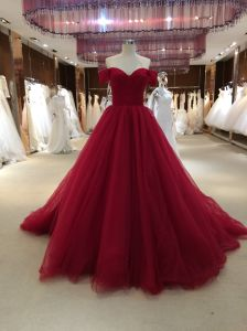 Princess Ball Gown Red Wedding Dress pictures & photos