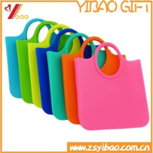Hot Sale Grocery Shopping Custom Silicone Bag/Handbag for Women Purse pictures & photos