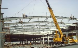 Beautiful Steel Structure Shed for Car Park pictures & photos