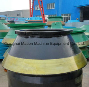 Manganese Steel Casting Cone Crusher Liners pictures & photos