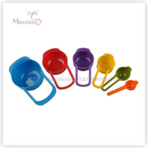 Hotselling Plastic ABS Measuring Spoon Set of 6 pictures & photos