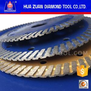 Granite Diamond Small Dry Turbo Cutting Blade pictures & photos