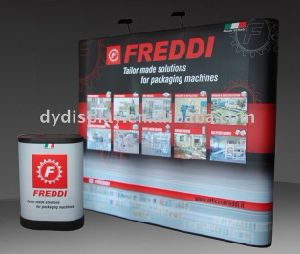 Straight Shape PVC Pop up Display Stand with PVC Panel pictures & photos