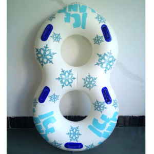 79inches L K80 PVC Double Tube Inflatable Water Game Tube for Waterpark pictures & photos