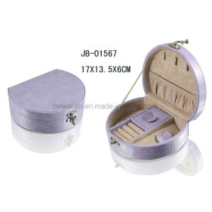 Promotion Gift Leather Jewelry Box pictures & photos
