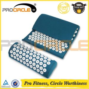 Pain Relief Stress Acupressure Massage Mat with Pillow pictures & photos