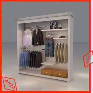 Wooden Wall Display Cabinet Stand for Retail Clothes Shop pictures & photos