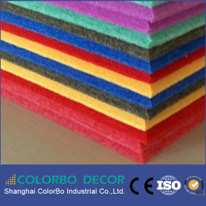 KTV Insulation Material Polyester Fiber Acoustic Panel pictures & photos
