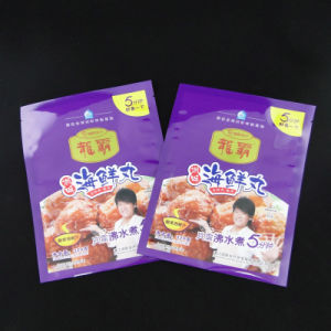 Biodegardable Food Garde Frozen Shrimp Plastic Packaging Bag pictures & photos
