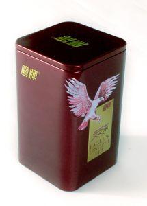 Custom Rectangular Shape Metal Tin Box for Tea pictures & photos