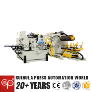 Automation Machine Nc Servo Straightener Feeder and Uncoiler Help to Make Electric Parts pictures & photos