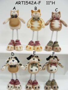 Fleece Bunching up and Down Christmas Cat & Dog Gift, 2 Asst pictures & photos