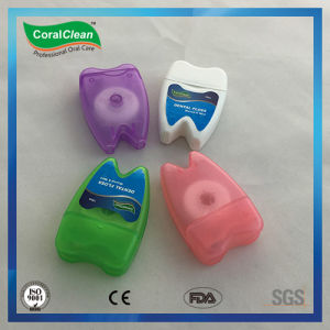 Fresh up Tooth Shape Dental Nylon Floss pictures & photos