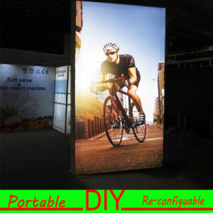 Custom Portable DIY Freestanding Floor Light Box Stand pictures & photos