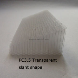 Polycarbonate Honeycomb Core for Lighting pictures & photos