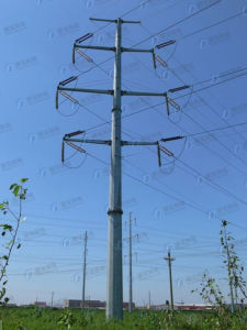 Durable Galvanized Steel Power Line Transmission Tower pictures & photos