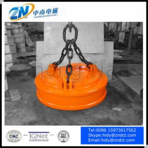 Round Type Electromagnetic Mining Separator for Iron Mc03-60L pictures & photos