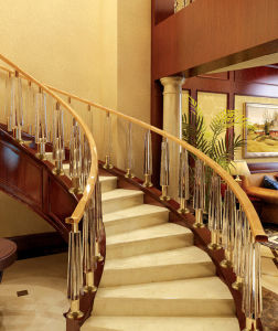 Impact Resistance of High Strength Environmental Protection Acrylic Handrail pictures & photos