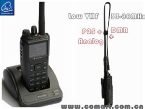 Low VHF Tactical Radio with Anaolog and P25 Mode