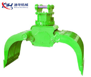 Hydraulic Swing Demolition Sorting Grab Bucket / Stone Grab for Excavator pictures & photos