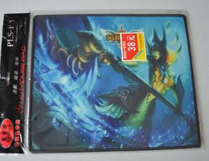 Natural Rubber Overlocked Mouse Pad Mouse Mat pictures & photos