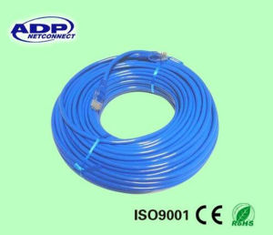 ADP Copper RJ45 Connector UTP or FTP Cat5e CAT6 Network Patch Cord Jumper Cable pictures & photos