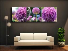Flowers Canvas Prints 3 Panels Canvas Painting Canvas Art