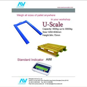 Electronic U Scale Pallet Scale of 2000kg pictures & photos