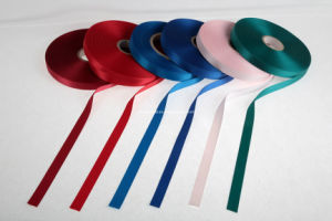 Nice Slit Edge Polyester Satin Label Ribbon