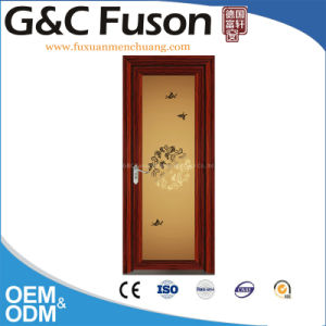 Sound Thermal Insulation Commercial Design Aluminum Casement Doors pictures & photos