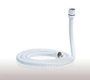 CH-10010 Stainless Steel Shower Hose / Double Locked Flexible Shower Hose / White Painted