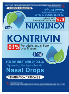 Western Medicine GMP Xylometazoline Bydrochloride Nasal Drops USP Bp 0.1% 0.05% 0.025% 10ml pictures & photos