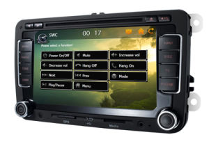 6.5 Inch HD TFT Touch Screen in Car DVD Player System for Volkswagen Magotan, Volkswagen Sagitar, Touran and Skoda (Silvery Edition)
