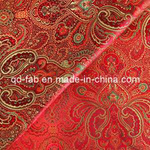 Top Grade Yarn Dyed Red Jacquard (JF-1) pictures & photos