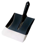 Black & Silver Painted Square Head Shovel