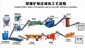 Stone Coal Briquetting Making Line (WLT)