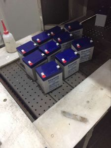 12V4ah Inverter Battery Back up Battery VRLA UPS Battery pictures & photos