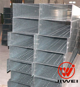 Cost Effective 100% Covored Cable Tray with Holes for Ventilation with CE/SGS Certificates