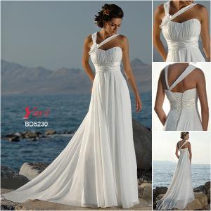 New Style Beach Wedding Dress (BD5230)