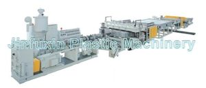 PP. PE Plastic Hollow Grid Board Extruding Machine pictures & photos