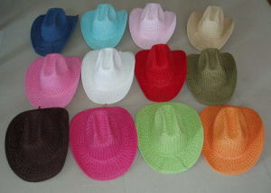Twisted Paper Hat Cowboy Hat pictures & photos
