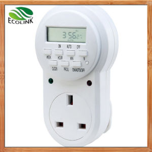 UK Electric Outlet Digital Timer pictures & photos