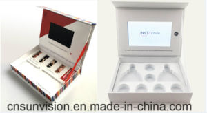 "Luxury 4.3"" LCD Cosmetic Marketing Video Gift Music Box pictures & photos"